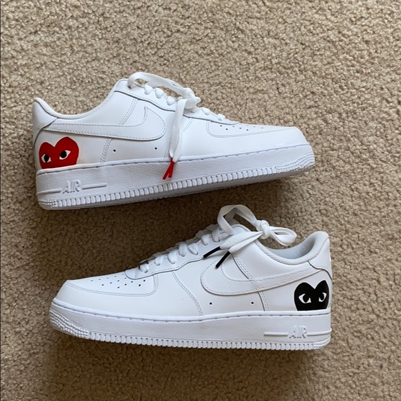 Nike Shoes Air Force 1 Custom Cdg Poshmark